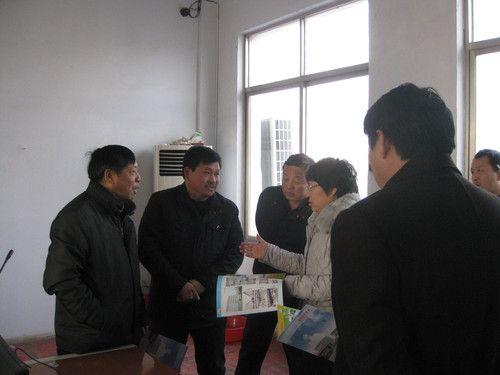 河南省信阳市领导来我公司检查指导工作